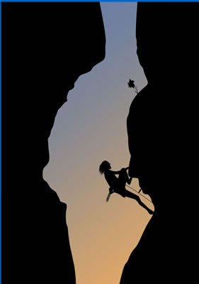 Coach-Lisa-Carey-Woman-Rock-Climbing